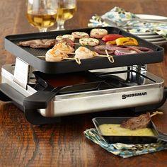 Swissmar 4 Person Raclette fancy fondue love