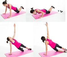 SIMPLE EXERCISES 2 REDUCE BRA BULGE | PUSH UP ROTATION