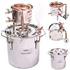 DIY 3 Gal 12 Liters Home Distiller Moonshine Alcohol Still Stainless Boiler Copper Thumper Keg Destilar Alcohol, Alcohol Still, Best Alcohol, Moonshine Alcohol, Moonshine Recipe, Whisky, How To Make Moonshine, Moonshine Still Kits, Still Spirits