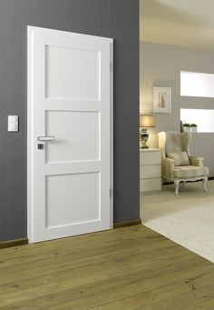 Scalea 2503 White painted clean high - - October 14 2019 at Interior Door Styles, Lobby Interior, Modern Interior, Solid Core Interior Doors, Interior Barn Doors, Living Room Decor Traditional, Traditional Doors, Bedroom Doors, Home Bedroom