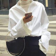 collars + turtlenecks | ILikeItThatWay