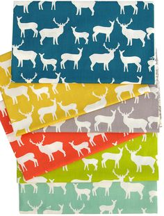 Mod Basics ~ Elk Family by Jay-Cyn Designs for Birch Fabrics   Red Pepper Quilts