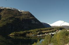 #Norway The photo is taken near #Valldal on a beautiful day in April. #bestnorwegian.com
