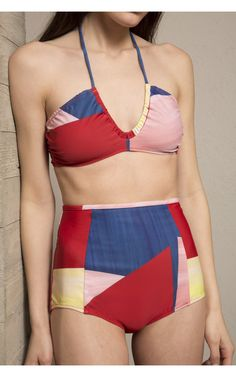 Rachel Comey Coupe Top and Keena Bikini Bottom