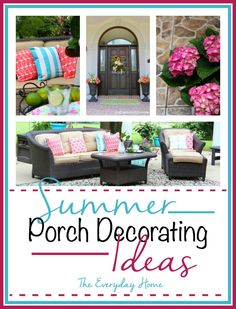 Summer Porch Decorating Ideas | The Everyday Home