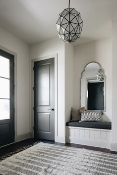 Foyer Nook In this charming Foyer, a nook with custom seat is flanked by closets Foyer Nook Ideas Foyer Nook Design Foyer Nook Foyer Nook Foyer Nook Foyer Foyer Nook In this charming Foyer, a nook with custom seat is flanked by closets Foyer Nook Ideas Foyer Nook Design Foyer Nook Foyer Nook Foyer Nook Foyer Nook Foyer Nook Foyer Nook #Foyer #Nook #FoyerNook Cabinet Paint Colors, Wall Paint Colors, Small Apartment Bedrooms, Small Apartments, Trim Paint Color, Modern Farmhouse Design, Visual Comfort, Built Ins, Living Spaces