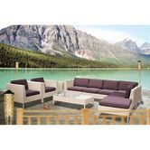 Found it at Wayfair - La Jolla 9 Piece Sectional Deep Seating Group with Cushions