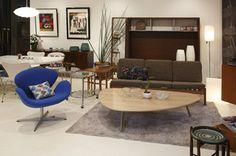 北欧家具のモダンなコーディネート