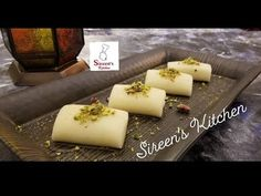 مطبخنا السوري - الشيف ابتسام كامل - YouTube Sweet Cheese Recipe, Cheese Recipes, Deserts, Dairy, Sweets, Cookies, Ramadan, Pastries, Middle