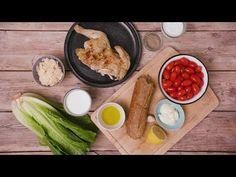 Sådan laver du en sprød og lækker cæsarsalat på få minutter | LIME