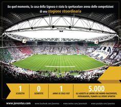 Buon compleanno Juventus Stadium!