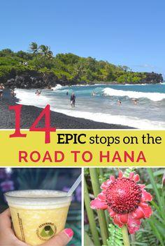 Maui Tips - Where to Stop on the Road to Hana in Maui Hawaii | www.apassionandapassport.com
