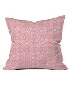 Another great find on #zulily! Lisa Argyropoulos Blush Melt Throw Pillow #zulilyfinds