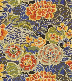 Zen Garden Porcelain - Waverly fabric