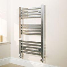 £134.90 450 x 800 Beta Heat Electric Square Chrome Heated Towel Rail