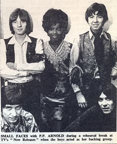 simplybek: P.P. Arnold and the boys of Small Faces