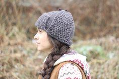 Womens Hats Knit Hat pilot hat crochet pilot hat knit hat