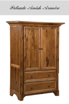 A fine example of Amish solid wood furniture, this handmade armoire will give your wardrobe the highest quality home and your bedroom a classic farmhouse chic look. Contemporary Bedroom Furniture, Bedroom Furniture Sets, Classic Furniture, Furniture Styles, Bedroom Ideas, Amish Furniture, Solid Wood Furniture, Fine Furniture, Classic Home Decor