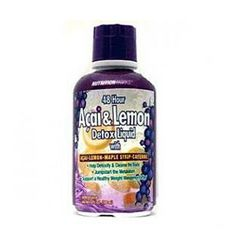 Nutrition Works 48 Hour Acai  Lemon Liquid Berry is an advanced, natural cleansing detox program designed to cleanse, detoxify and recharge the metabolism. Designed to eliminate toxins, recharge the body and jump-start your weight loss! $10.95