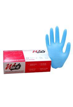 Nitrile glove, powder free: Nitrile glove, powder free, 4 mil