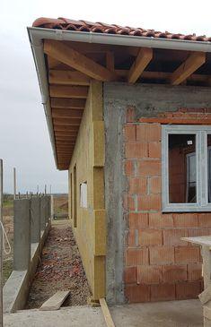 Casa pe parter in Corbeanca | CoArtCo House Roof Design, Modern House Design, Master Room Design, Steel Structure Buildings, House Foundation, Modern House Plans, Design Case, Architect Design, Cabin
