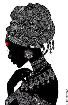 Doodle Art Drawing, Zentangle Drawings, Pencil Art Drawings, Art Drawings Sketches, Zentangles, Zentangle Art Ideas, Mandala Drawing, Dibujos Zentangle Art, African Art Paintings