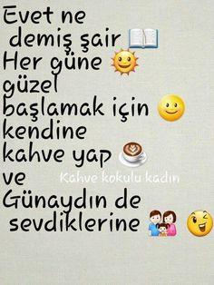 Gunaydin deee :)