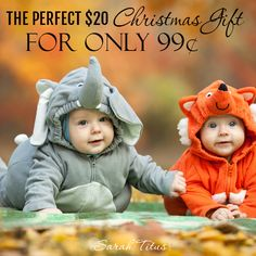 Did you know that the perfect Christmas gift is only 99¢? Yep, totally true. Here's what I do for my own kids and it always works...well...perfectly. :)