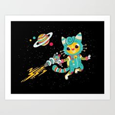 Kitty Cat Space Captain