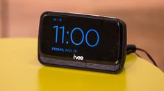 Wake up to this voice-activated alarm clock by Interactive Voice.