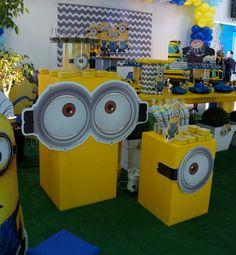 Minions Birthday Theme, Minion Theme, 4th Birthday Parties, Baby Birthday, Minion Baby, Minion S, Minion Banana, Minion Classroom, Fiesta Party