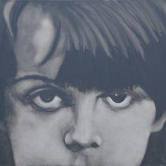 Huile sur toile 100x100 Fabienne Roux ©