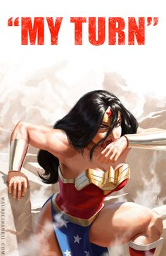 Wonder Woman: My Turn, Mauricio Abril on ArtStation at https://www.artstation.com/artwork/wonder-woman-my-turn