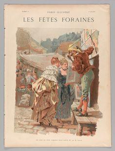 """Paris illustrated, """"The fairgrounds"""" 1884 Paris, France 1 volume"""