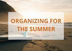 organizing for summer