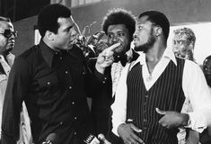 50-photos-rares-de-Mohamed-Ali-cassius-clay-75-ans-42-don-king-joe-frazier 50 photos rares de Mohamed Ali pour célébrer son 75eme anniversaire