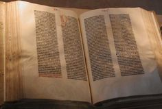 Johannes Gutenberg and the Printing Press : Western Civilization II Guides Bible Hébraïque, Hebrew Bible, Daily Bible, Bible Verses, Scriptures, Johannes Gutenberg, Parts Of A Book, The Book, Bible Interpretation