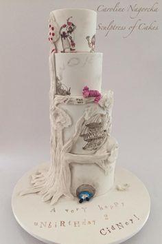Alice in Wonderland Cake by Caroline Nagorcka
