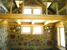 Cordwood when done properly, is such a visual feast.