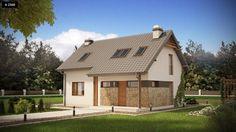 Projekt domu Z225 D - Domo.com.pl