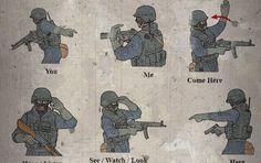 Tactical Hand Signals Every Survivalist Should Know - Die Hard Survivor