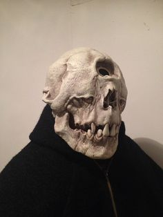 Cyclops Mask Skull Sculpture Fantastic Mythical Creatures