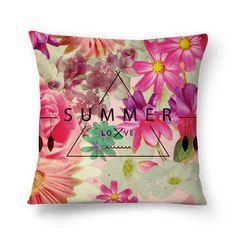 Compre SUMMER LOVE de @nika em almofadas de alta qualidade. Incentive artistas independentes, encontre produtos exclusivos.