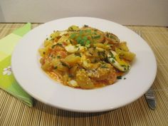 Csütörtök: Rakott krumpli A 17, Risotto, Curry, Chicken, Meat, Ethnic Recipes, Food, Curries, Essen