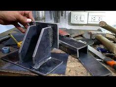 Welding Shop, Diy Welding, Welding Table, Welding Projects, Forging Tools, Lathe Tools, Metal Tools, Recycling Machines, Interlocking Bricks