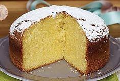 TORTA DEGLI ANGELI ricetta soffice e facilissima Peach Pound Cakes, Torte Cake, Cooking Cake, Plum Cake, Chiffon Cake, Almond Cakes, Sweets Recipes, Creative Food, Yummy Cakes