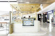 Creamy Buzzle Sweet Corner Café by party/space/design, Bangkok – Thailand » Retail Design Blog