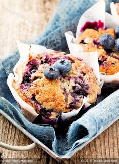 Bisquick Blueberry Muffins: Sometimes nothing is better than blueberry muffins and this scrumptious recipe shows just that.