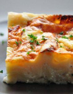 Lasagnes blanches aux trois fromages