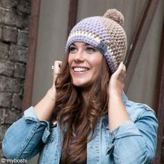 Crochet Patterns Beanie The caps of the Franconian label myBoshi have long been cult. We crochet . Crochet Unicorn Hat, Crochet Beanie, Chrochet, Knitted Hats, Knit Crochet, Crochet Hats, Baby Knitting Patterns, Crochet Patterns, Bonnet Crochet